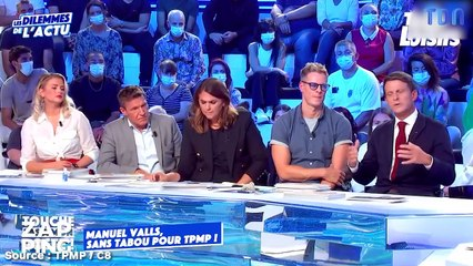 """""""Ça me donne envie de crier et de chialer"""" : Manuel Valls explique pourquoi il a souhaité porter plainte contre Arte dans TPMP (VIDEO)"""