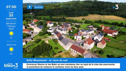 23/09/2021 - Le 6/9 de France Bleu Creuse en vidéo