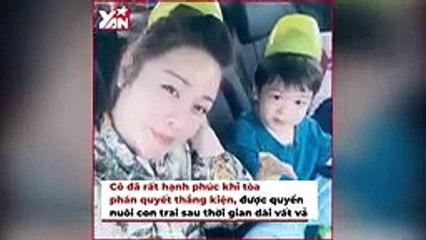 Nhật Kim Anh bật khóc trong lúc tặng quà cho con, đến nay vẫn chưa đoàn tụ