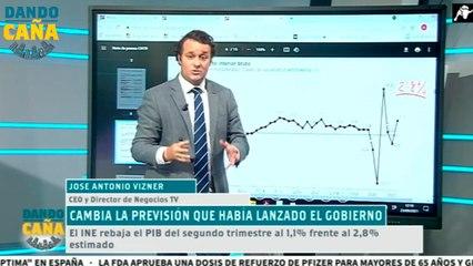 Cambia la previsión del Gobierno: el INE rebaja al PIB del segundo trimestre al 1,1%