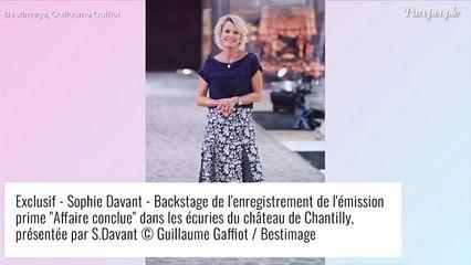 """Sophie Davant pas toujours présente pour ses enfants : ces """"moments précieux"""" qu'elle a manqués"""