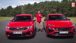 VÍDEO: Cara a Cara entre el VW T-Roc R y el Hyundai Kona N, dos SUV de lo más divertidos