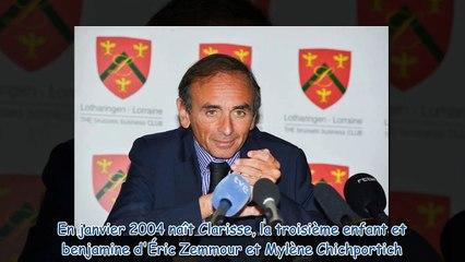 Eric Zemmour marié à Mylène Chichportich - qui sont leurs trois enfants -