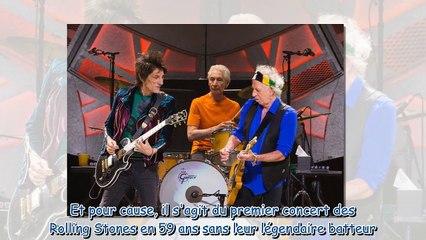 Mick Jagger - son bouleversant hommage Charlie Watts en plein concert