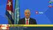 """Miguel Díaz-Canel: """"El papel de la ONU y el multilateralismo resultan importante"""""""