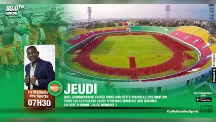 Matinale Des Sports du 23 septembre 2021 par Fernand Kouakou [ Radio Côte d'Ivoire ]