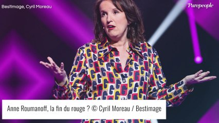 Anne Roumanoff explique pourquoi elle ne porte (presque) plus de rouge (EXCLU)