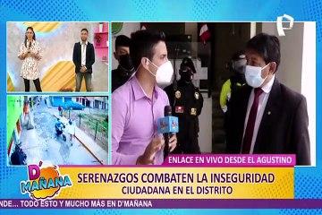 El Agustino: serenos usan cámaras integradas en cascos para identificar rostro de delincuentes