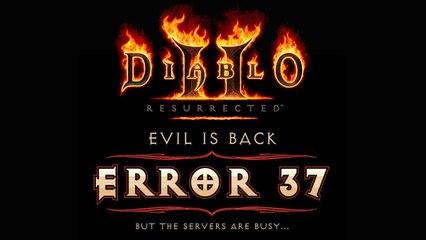 Diablo 2 Resurrected : Problèmes de connexion et de serveurs