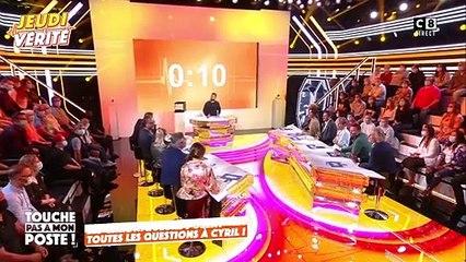 """Cyril Hanouna évoque sa brouille avec Arthur sur le plateau de """"Touche pas à mon poste""""."""