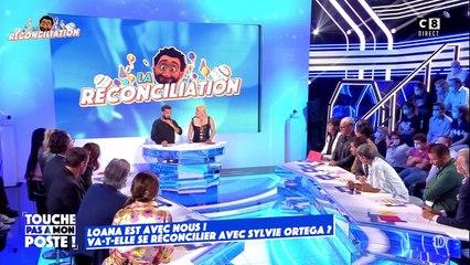 """Cyril Hanouna a tenté de réconcilier Loana et Sylvie Ortega sur le plateau de """"Touche pas ) mon poste""""."""