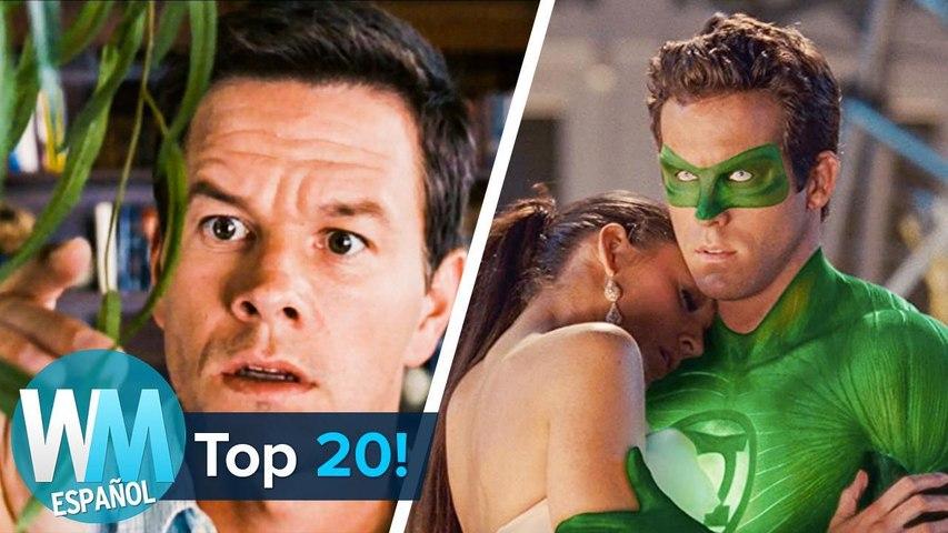 ¡Top 20 Actores y Actrices que ODIAN sus propias películas!