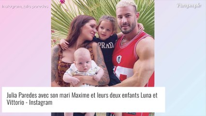 Julia Paredes de nouveau en couple avec Maxime : adorable portrait de famille et pied de nez au haters