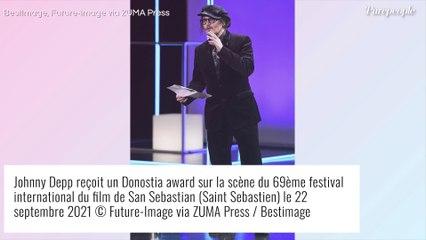 "Johnny Depp : Ses propos alarmistes sur la ""cancel culture"" au Festival de San Sebastian"