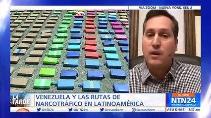 Presidente de Guatemala denuncia ante la ONU tráfico de drogas proveniente de Venezuela