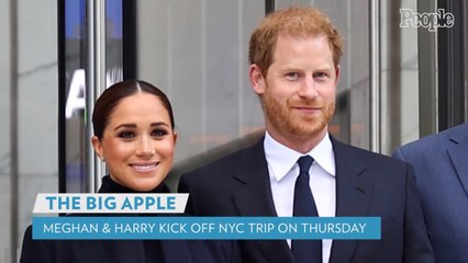 Meghan Markle and Prince Harry Kick Off New York City Trip with Visit to World Trade Center