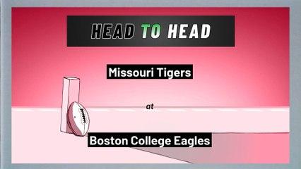 Boston College Eagles - Missouri Tigers - Over/Under