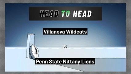 Penn State Nittany Lions - Villanova Wildcats - Spread