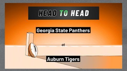 Auburn Tigers - Georgia State Panthers - Over/Under