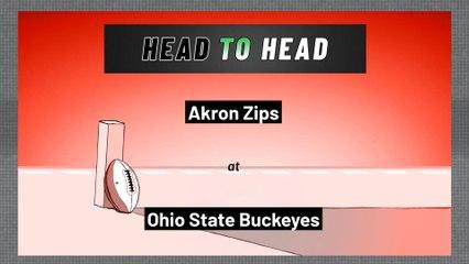 Ohio State Buckeyes - Akron Zips - Spread