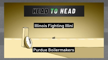 Purdue Boilermakers - Illinois Fighting Illini - Over/Under