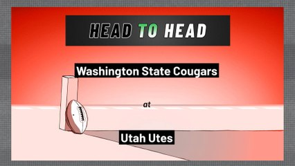 Utah Utes - Washington State Cougars - Spread