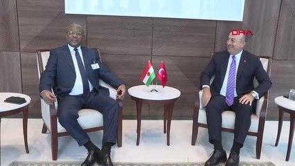 Son dakika haber | Bakan Çavuşoğlu, Nijer Dışişleri Bakanı ile görüştü