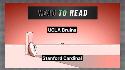 Stanford Cardinal - UCLA Bruins - Over/Under