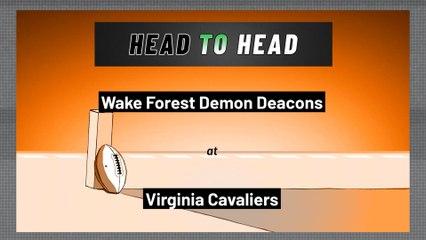 Virginia Cavaliers - Wake Forest Demon Deacons - Over/Under