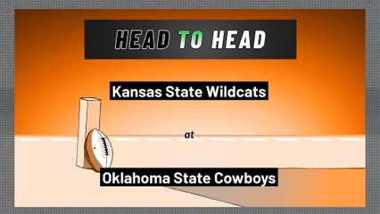 Oklahoma State Cowboys - Kansas State Wildcats - Over/Under