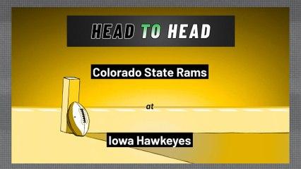 Iowa Hawkeyes - Colorado State Rams - Spread