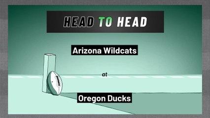 Oregon Ducks - Arizona Wildcats - Over/Under