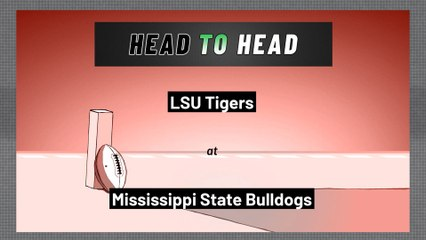 Mississippi State Bulldogs - LSU Tigers - Spread