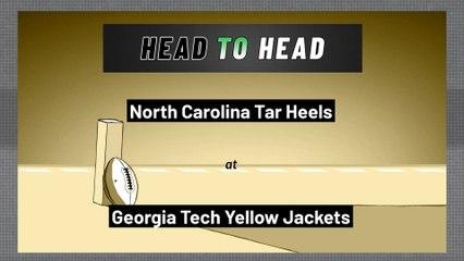 Georgia Tech Yellow Jackets - North Carolina Tar Heels - Spread