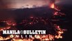 Aerial views of first three days of the eruption of the Cumbre Vieja volcano on La Palma island