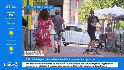 24/09/2021 - Le 6/9 de France Bleu Limousin en vidéo