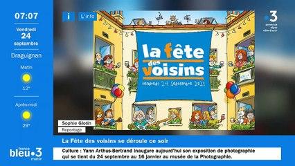 24/09/2021 - Le 6/9 de France Bleu Azur en vidéo