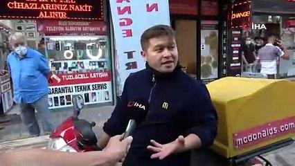 """Tuzla'da maskesiz şahıstan polise """"bana teşkilatın numarasını gönderin"""""""