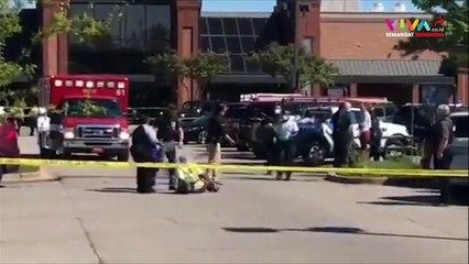 NGERI! Penembakan di Supermarket, Belasan Orang Jadi Korban