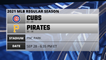 Cubs @ Pirates Game Preview for SEP 28 -  6:35 PM ET