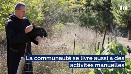 La vie secrète des moines bénédictins au monastère Saint-Benoît , à Brignoles