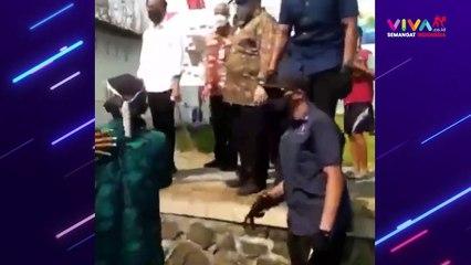 Pria Ini Terobos Paspampres Demi Bertemu Presiden Jokowi