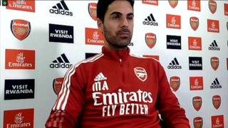 Arteta on Arsenal derby with Tottenham