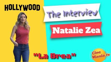 La Brea: Series Premiere Interview Natalie Zea (Captioned)