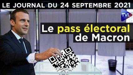 Pass électoral ou Pass sanitaire ? - JT du vendredi 24 septembre 2021