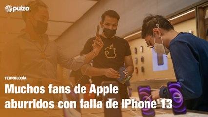 Detectan el primer problema en el nuevo iPhone 13   Pulzo
