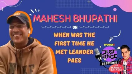Exclusive Interview! Mahesh Bhupathi On When Was The First Time He Met Leander Paes | SpotboyE