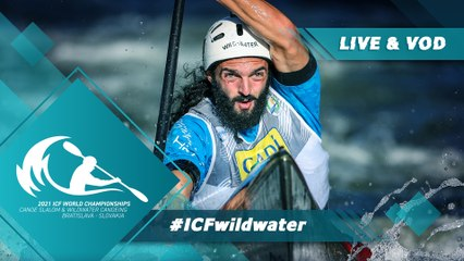 2021 ICF Canoe Kayak Slalom & Wildwater World Championships Bratislava Slovakia / Wildwater Finals