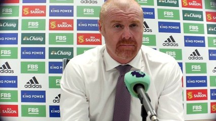 Sean Dyche post match thoughts after draw with Leicester City