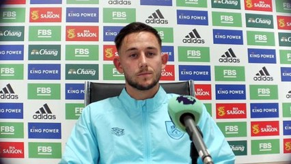 Josh Brownhill post match thoughts following draw with Leicester City